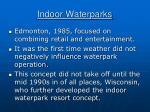 indoor waterparks