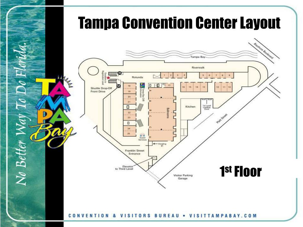 Tampa Convention Center Layout