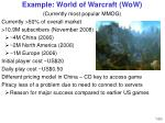 example world of warcraft wow