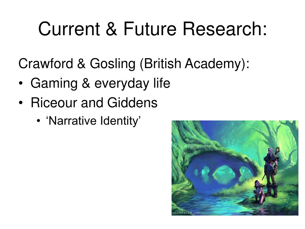 Current & Future Research: