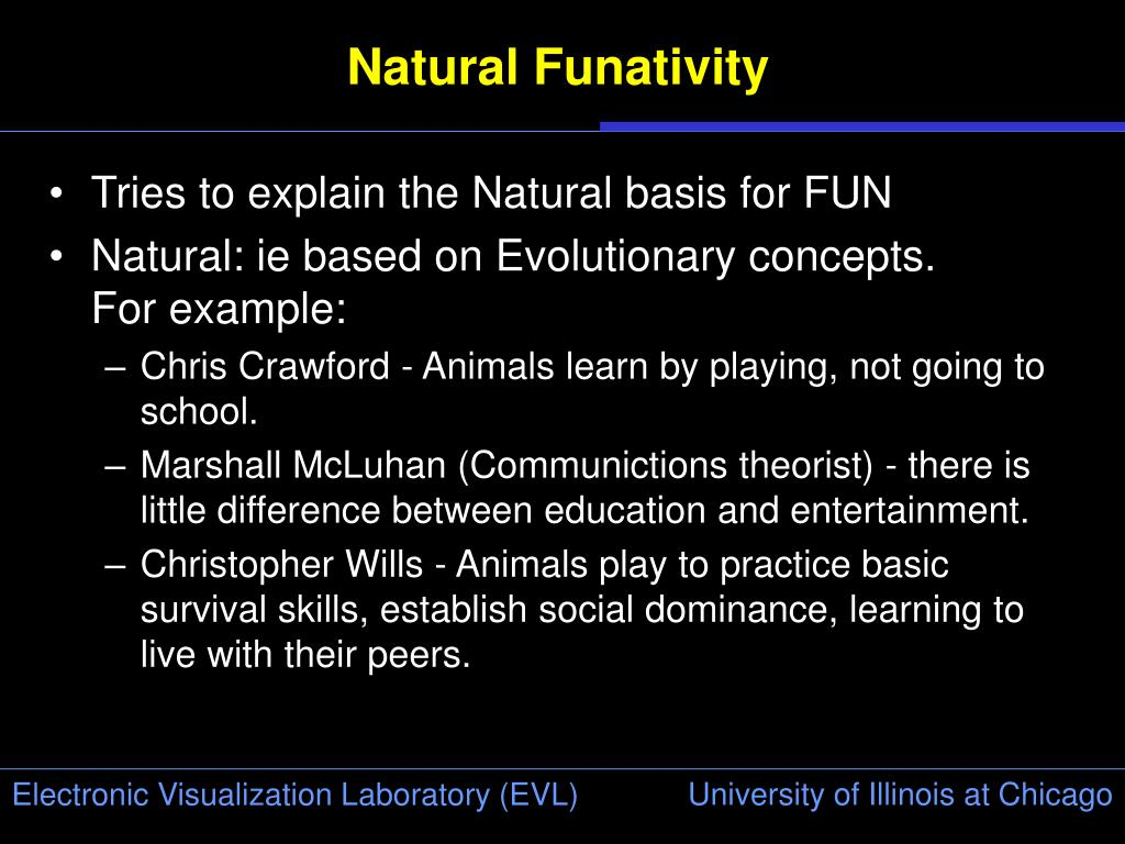Natural Funativity