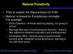 natural funativity