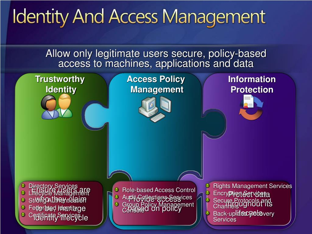 Provide access based on policy