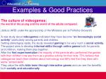 examples good practices