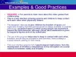 examples good practices35