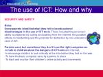 the use of ict how and why26