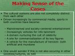 making sense of the cases80