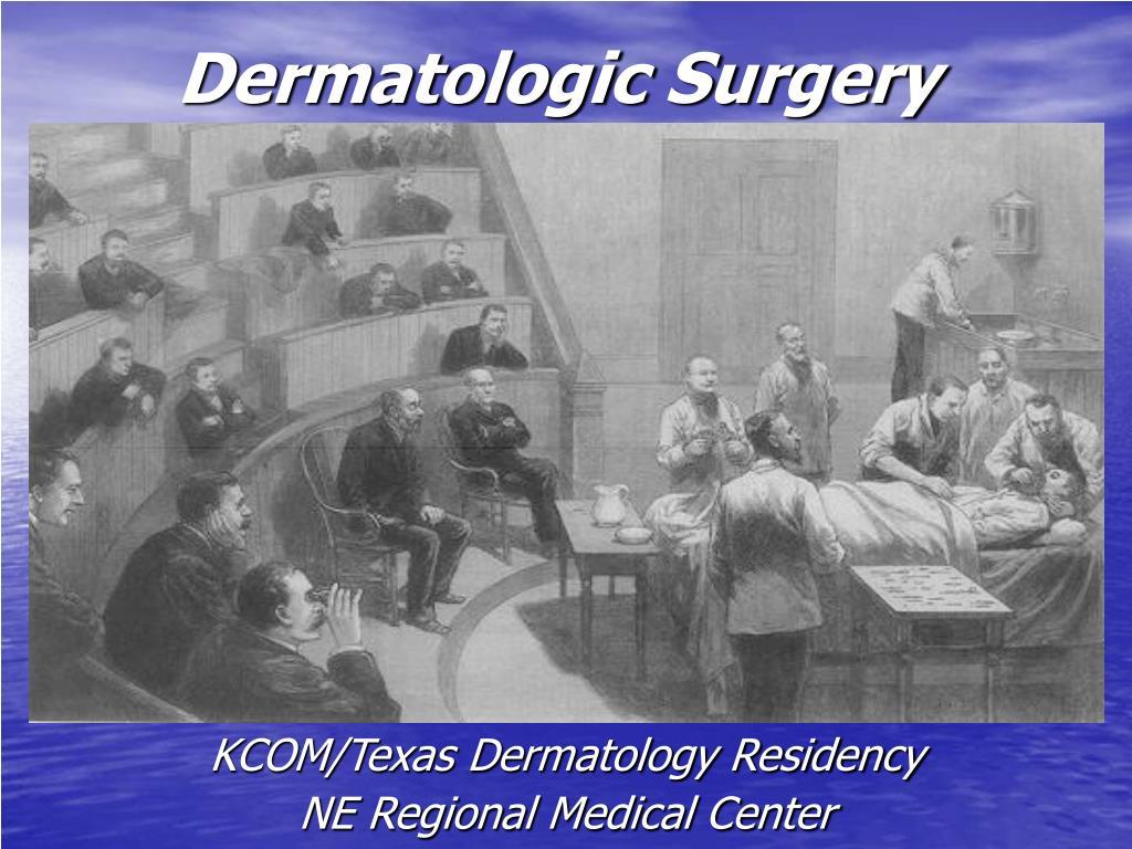 dermatologic surgery l.