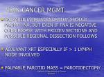 skin cancer mgmt133