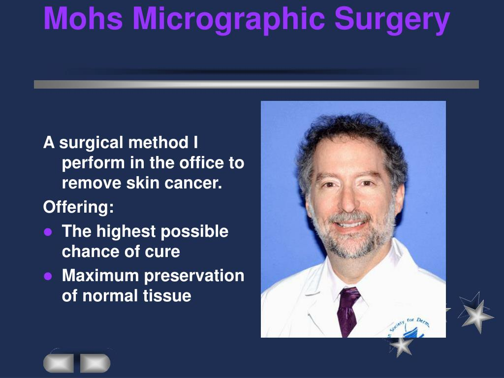 mohs micrographic surgery l.