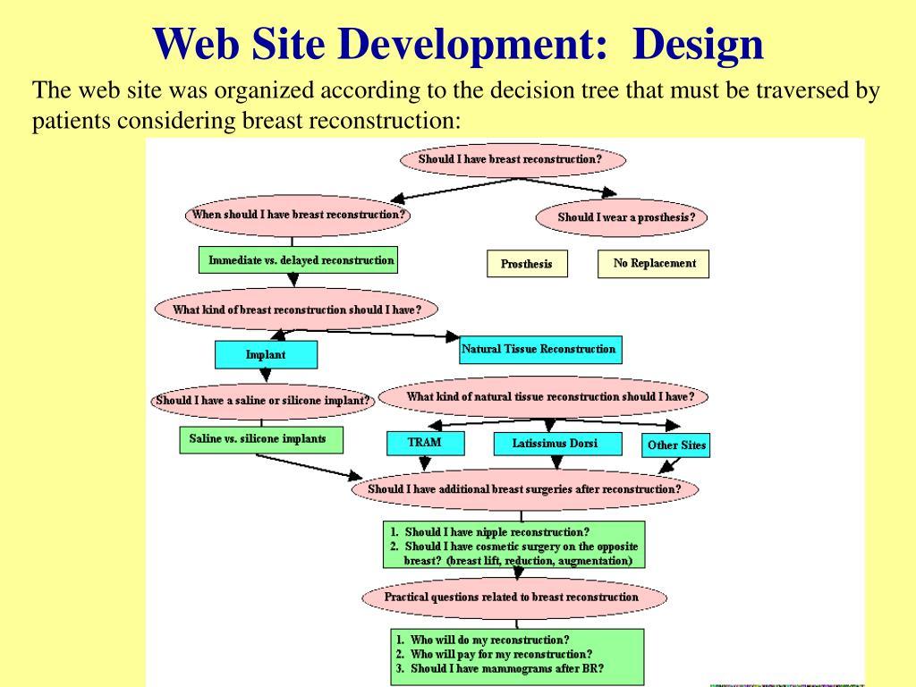 Web Site Development:  Design