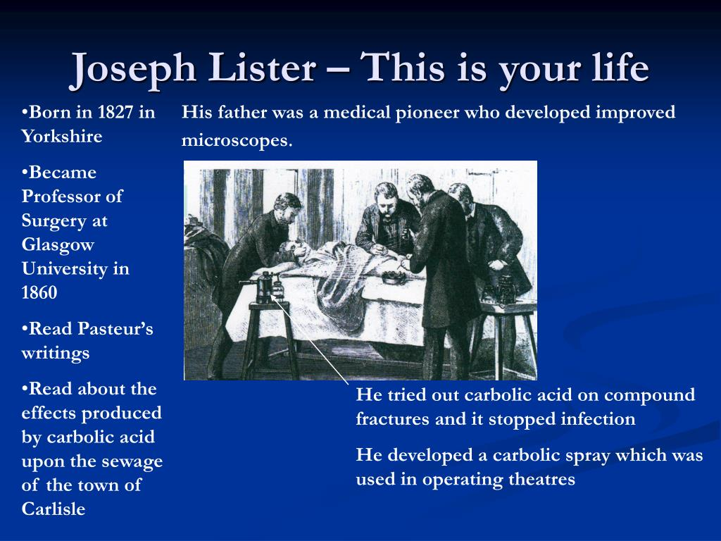 Joseph Lister – This is your life
