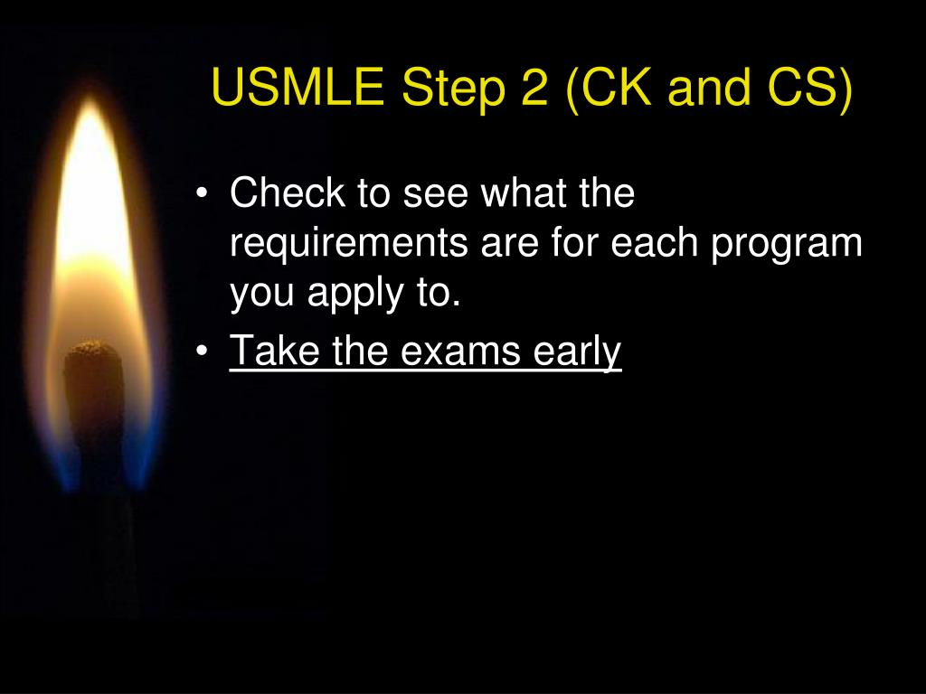 USMLE Step 2 (CK and CS)