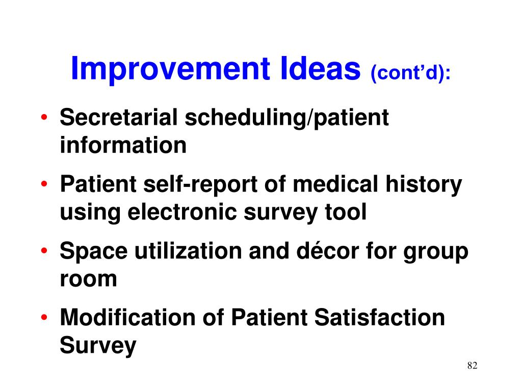 Secretarial scheduling/patient information