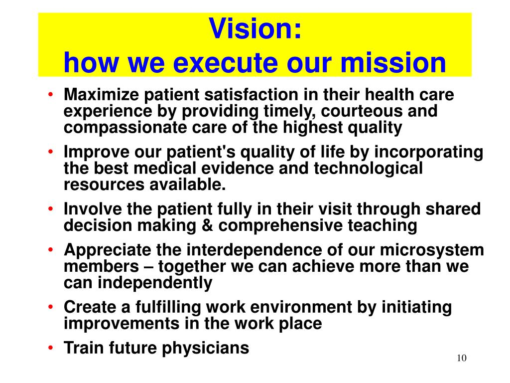 Vision: