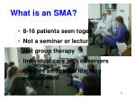 what is an sma