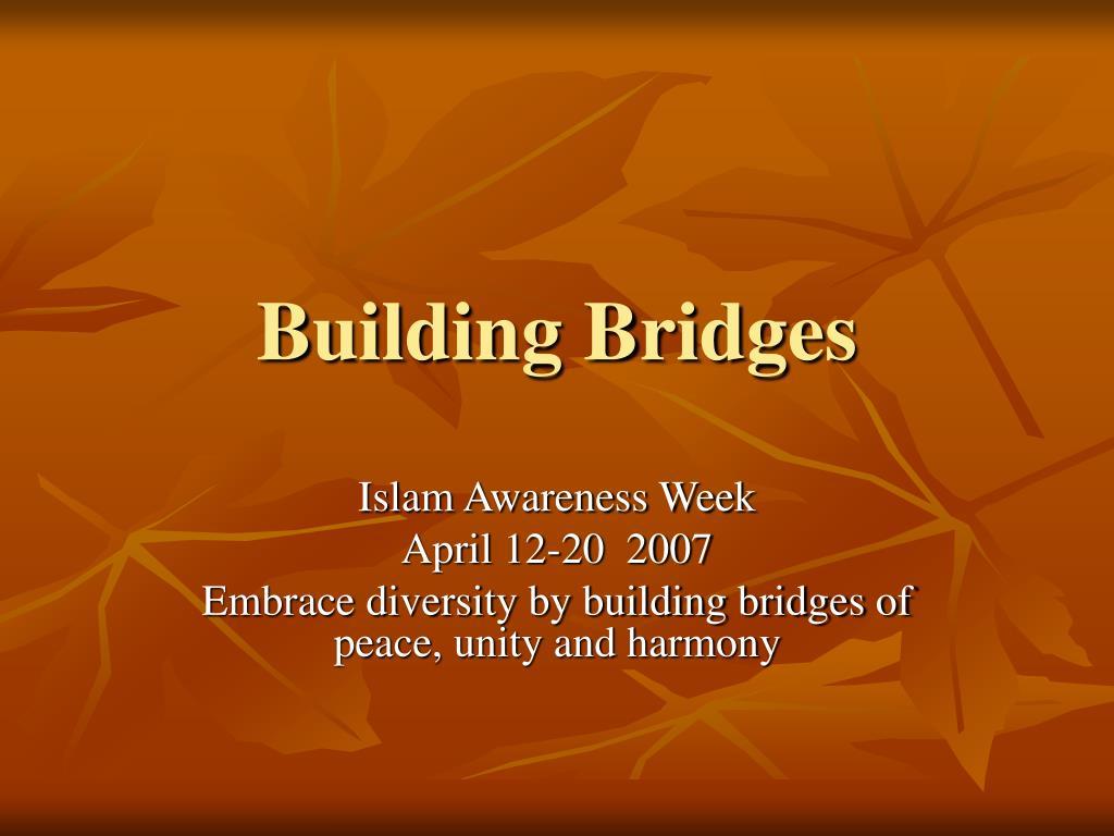 building bridges l.