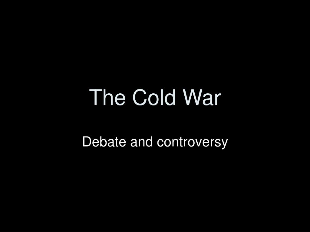 the cold war l.