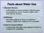 facts about water use8