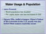 water usage population6