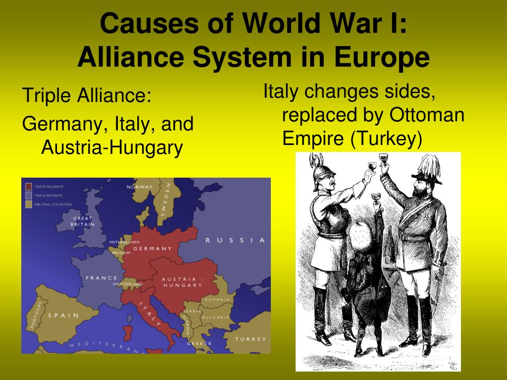 extent did alliance system cause first world war Listen to the audio of this blog post about world war one – causes the first world war began in august 1914 the dual alliance.