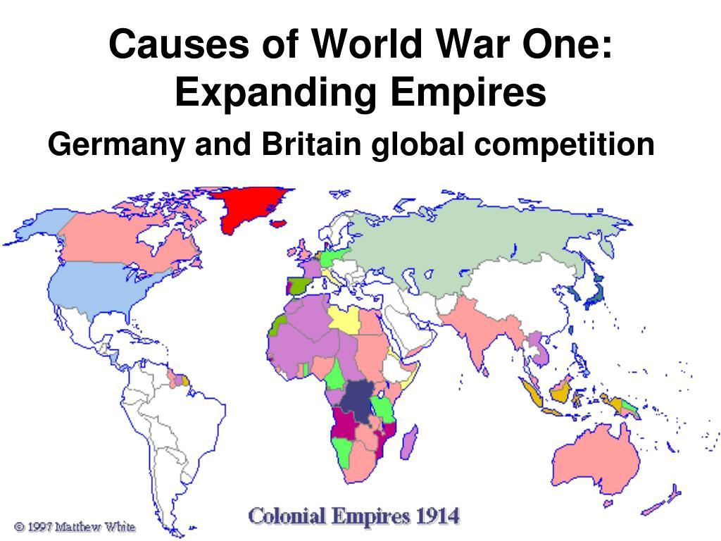Causes of World War One: Expanding Empires