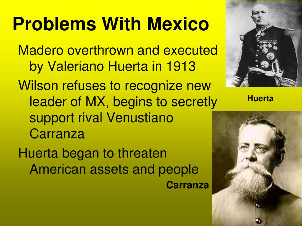Problems With Mexico