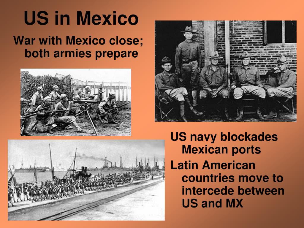 War with Mexico close; both armies prepare