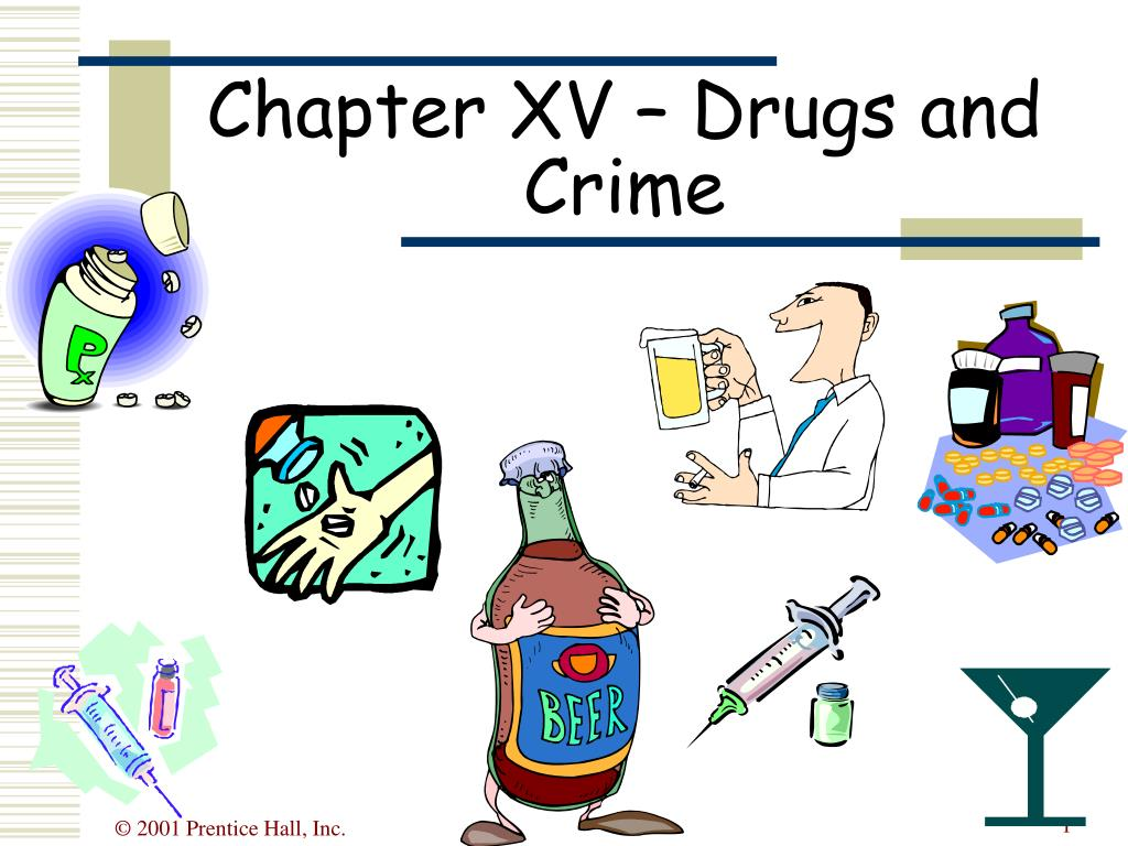 chapter xv drugs and crime l.