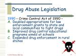 drug abuse legislation47