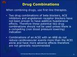 drug combinations