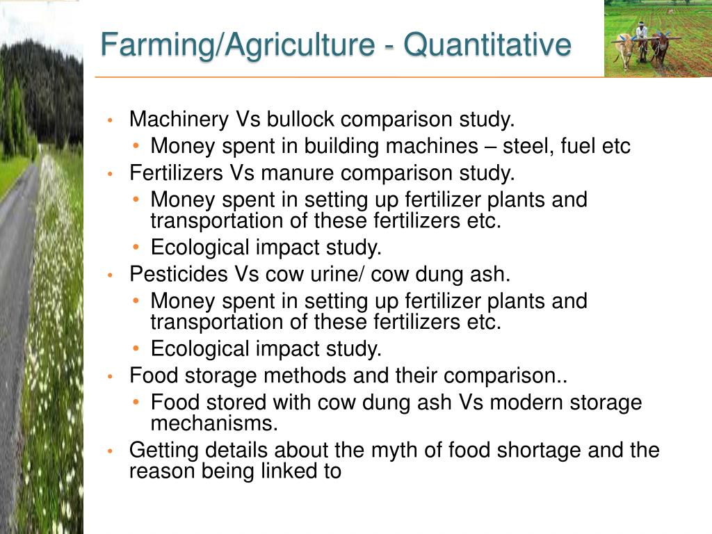 Farming/Agriculture -