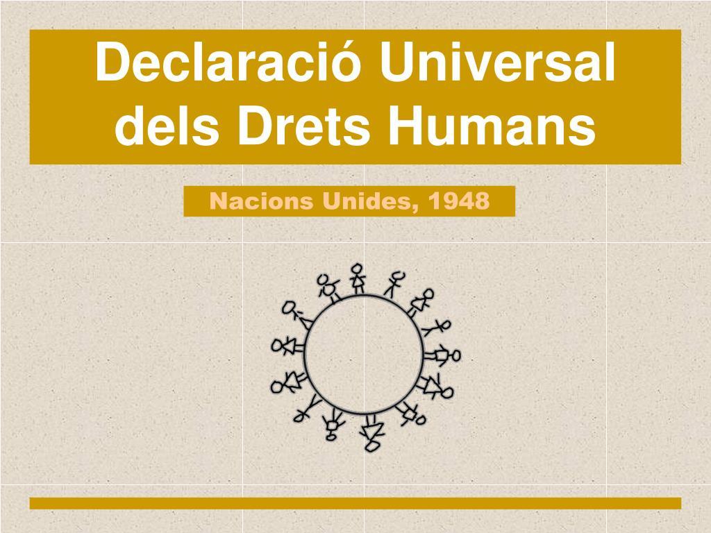 Declaració Universal