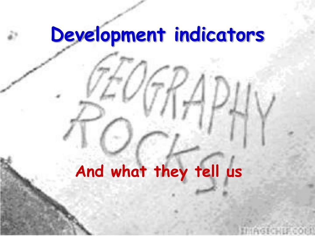 development indicators l.