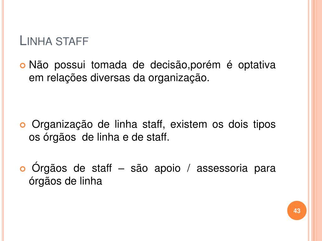 Linha staff
