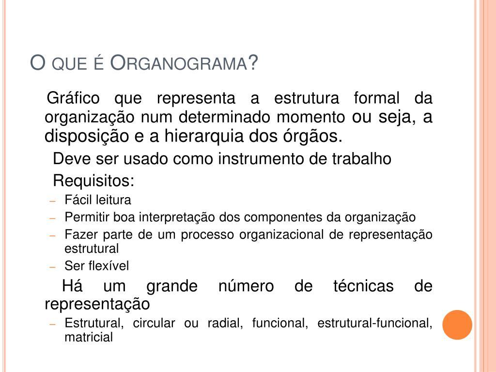 O que é Organograma?