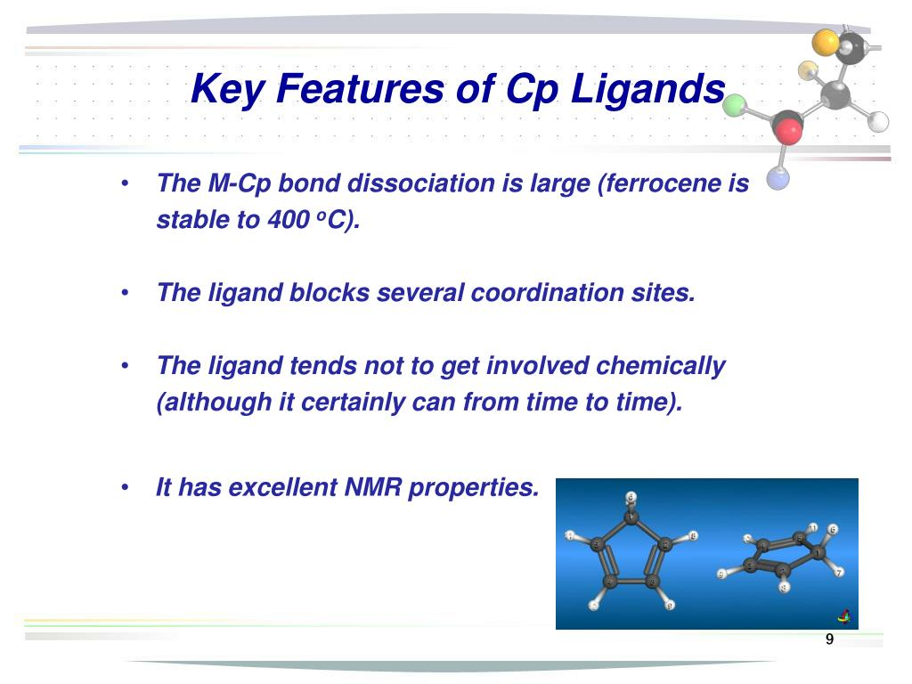 Key Features of Cp Ligands