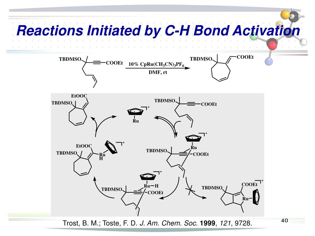 Reactions Initiated by C-H Bond Activation