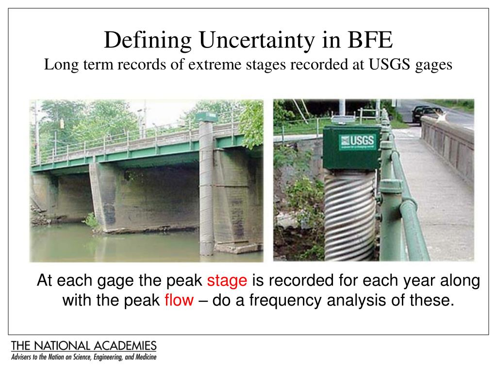 Defining Uncertainty in BFE