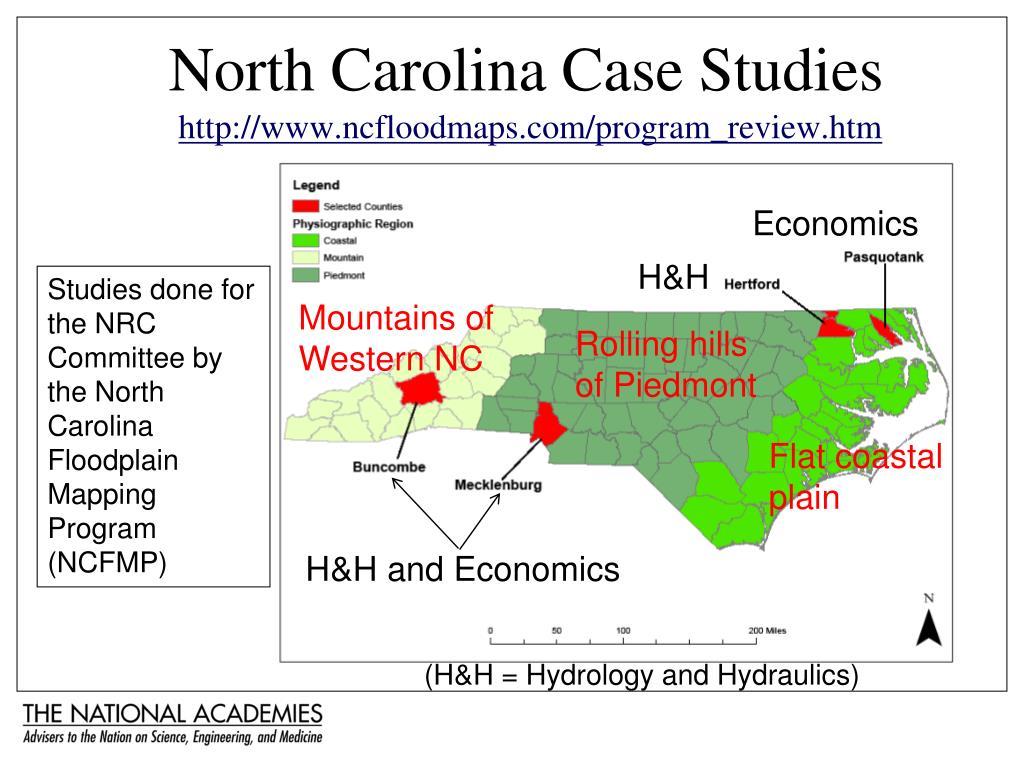 North Carolina Case Studies