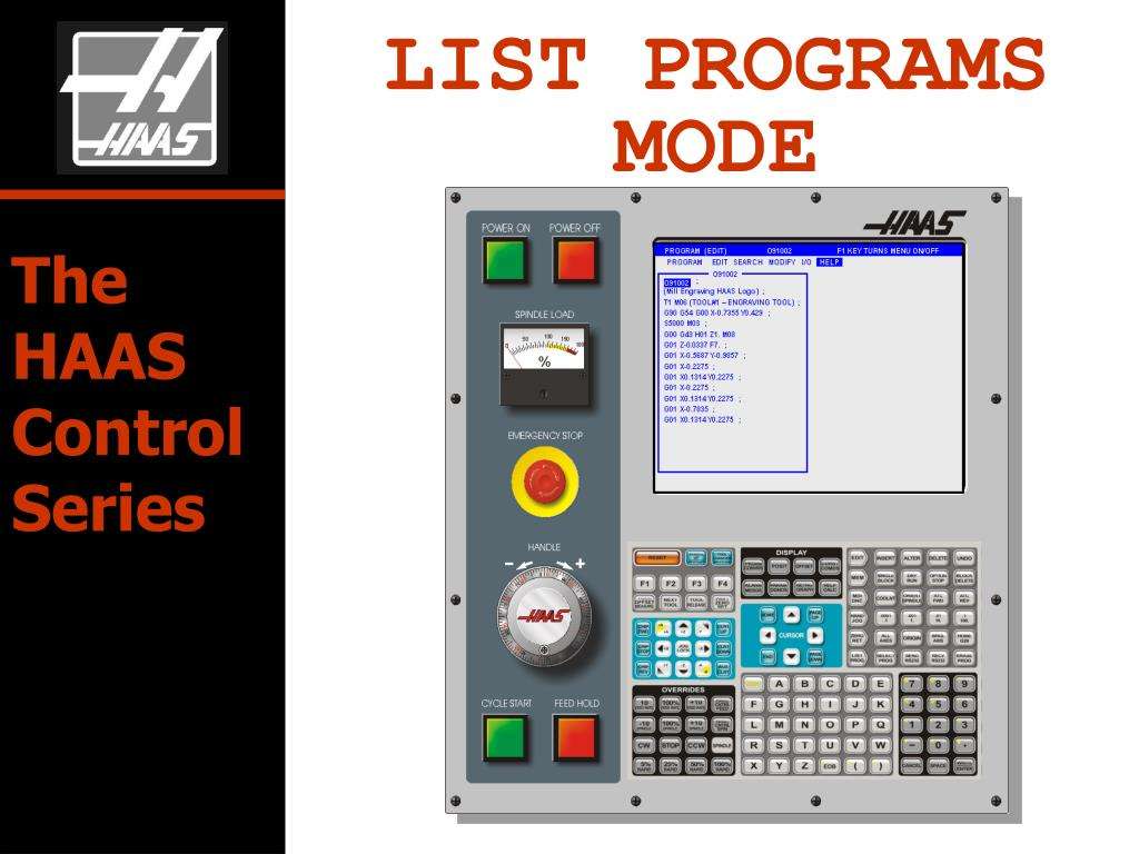 PPT - LIST PROGRAMS MODE PowerPoint Presentation - ID:645348