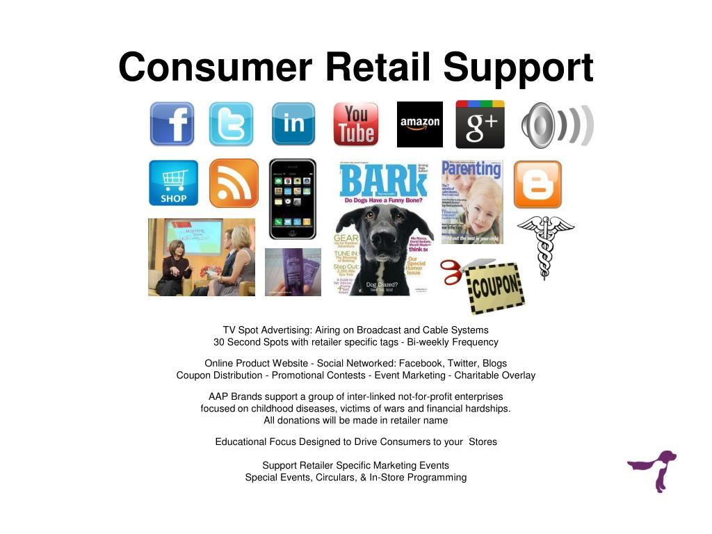 Consumer Retail Support
