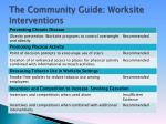 the community guide worksite interventions15
