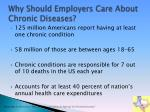 why should employers care about chronic diseases