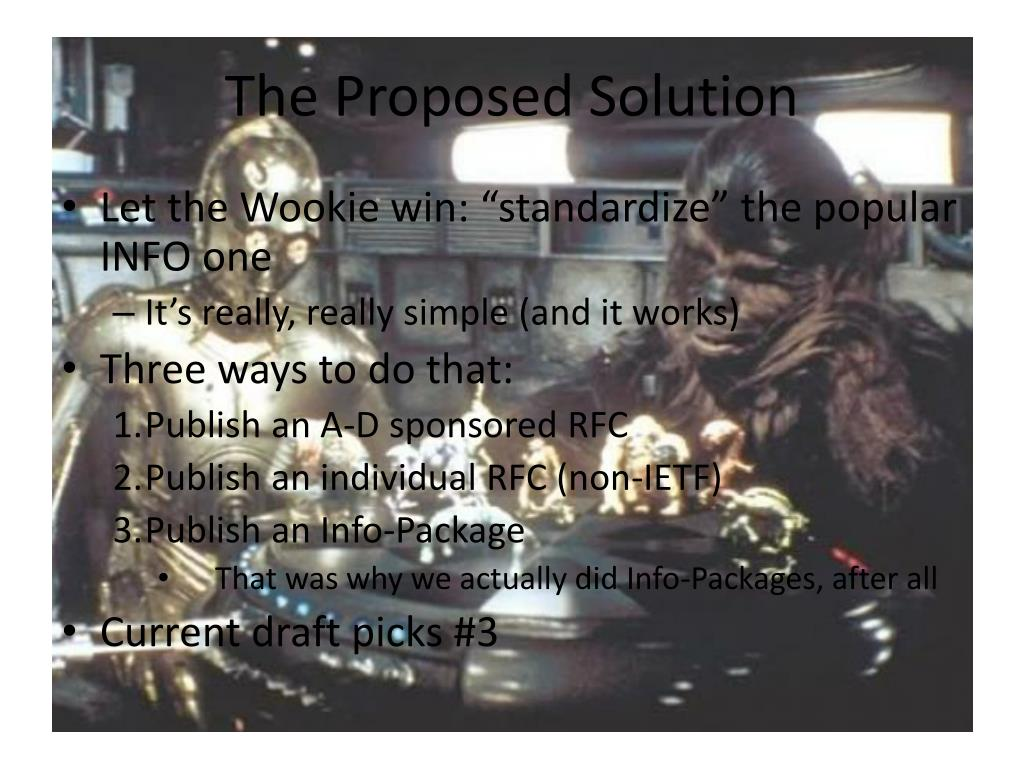 The Proposed Solution