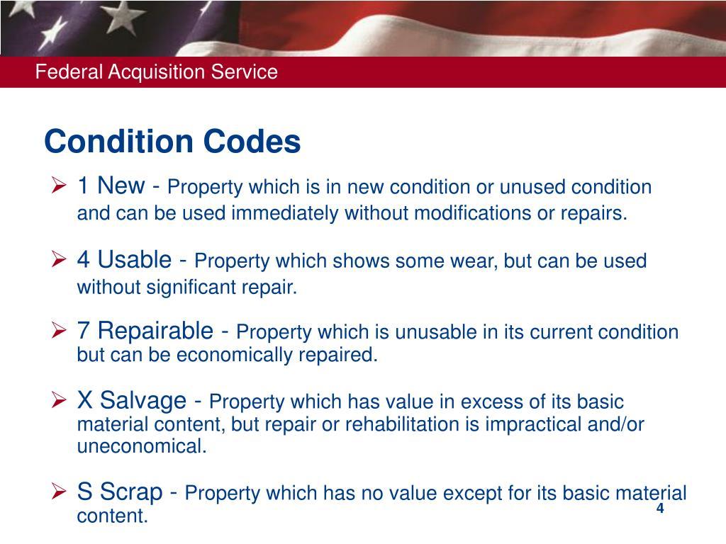 Condition Codes