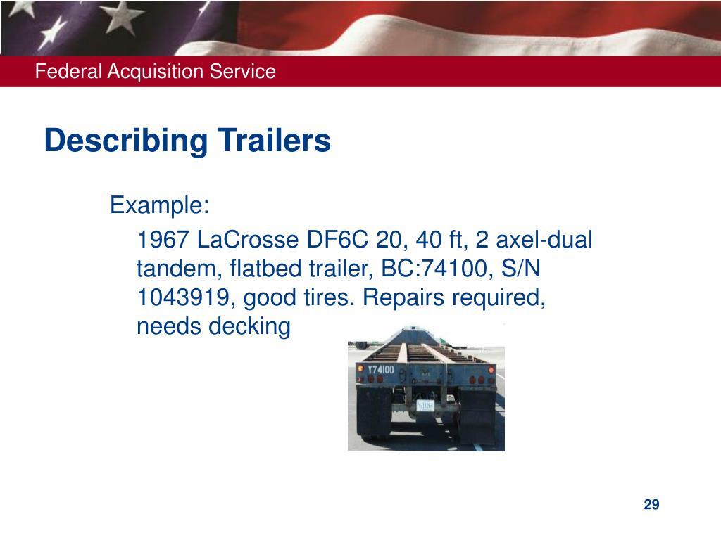 Describing Trailers