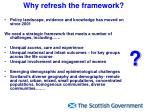 why refresh the framework