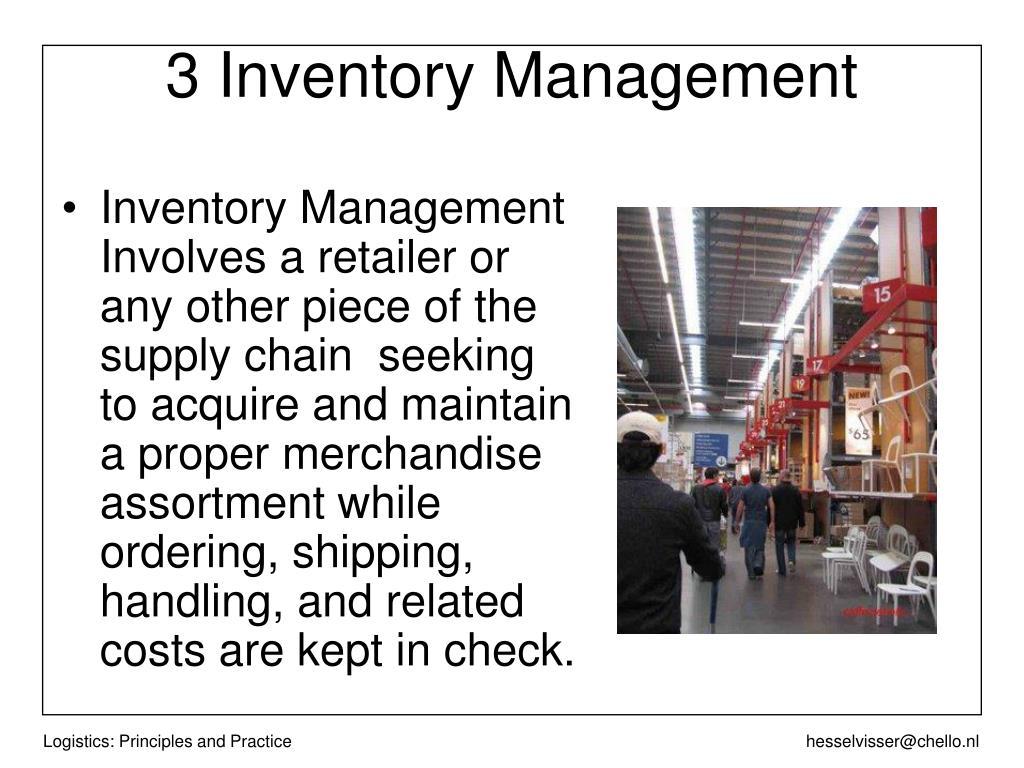 3 Inventory Management