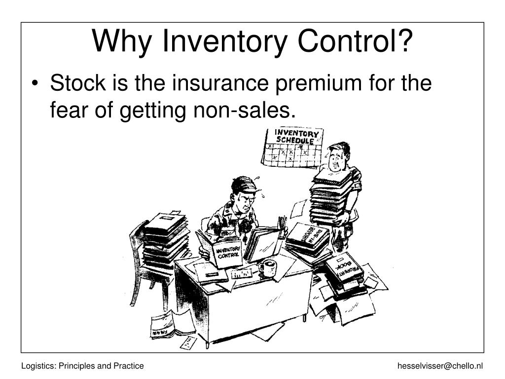 Why Inventory Control?